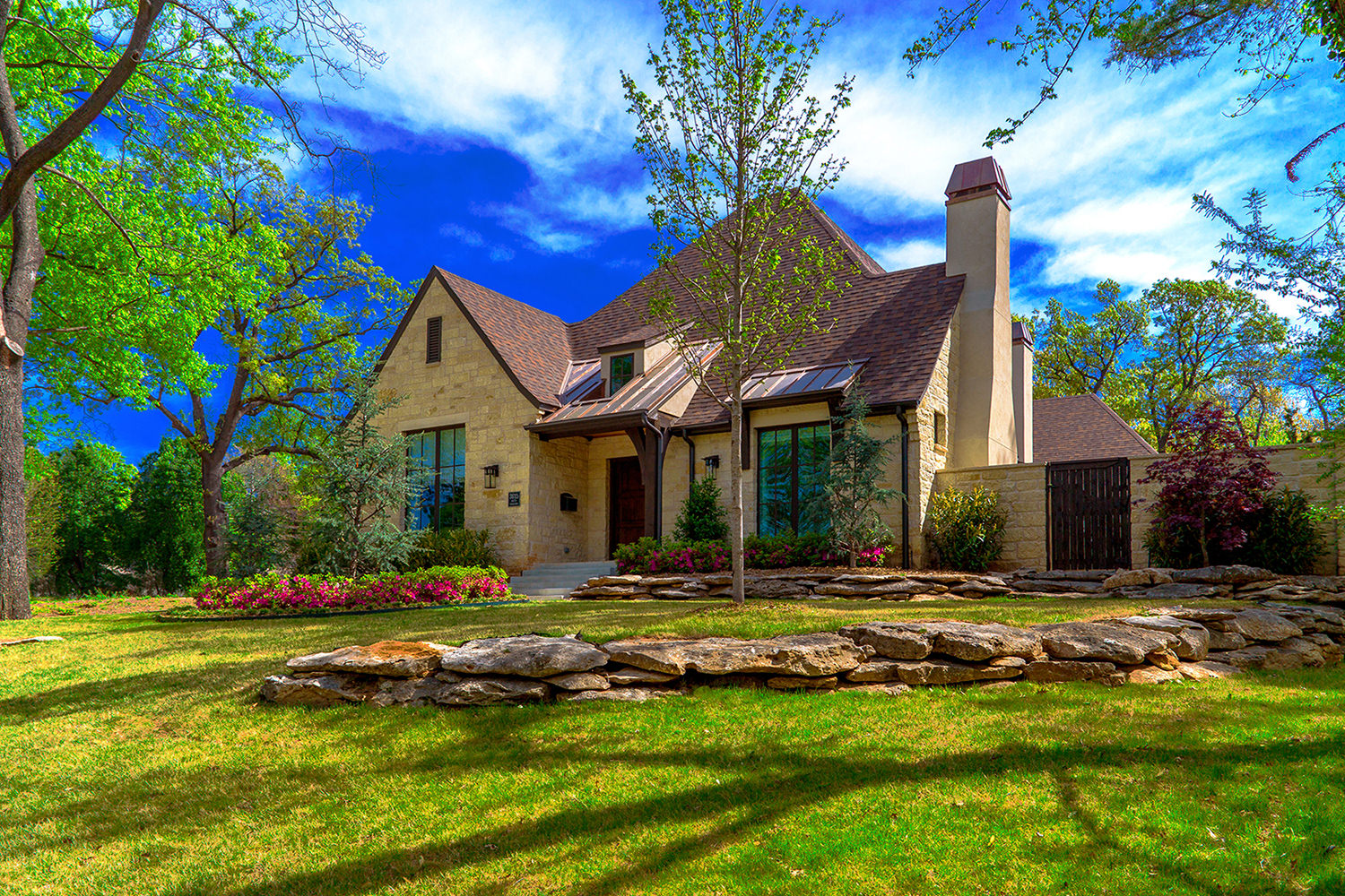 French Country Style House Lessley Residence Bainbridge Design Group