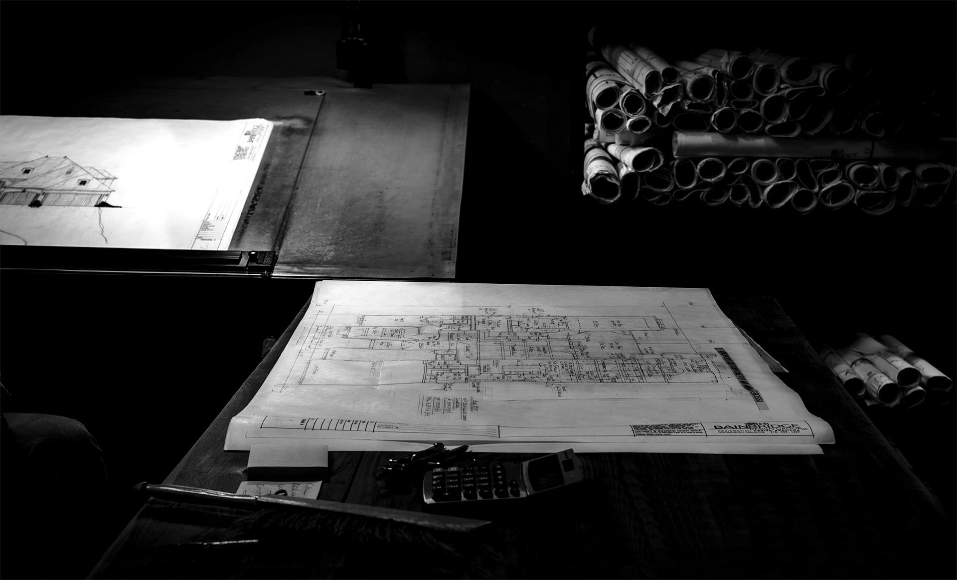 Residential design process and workspace