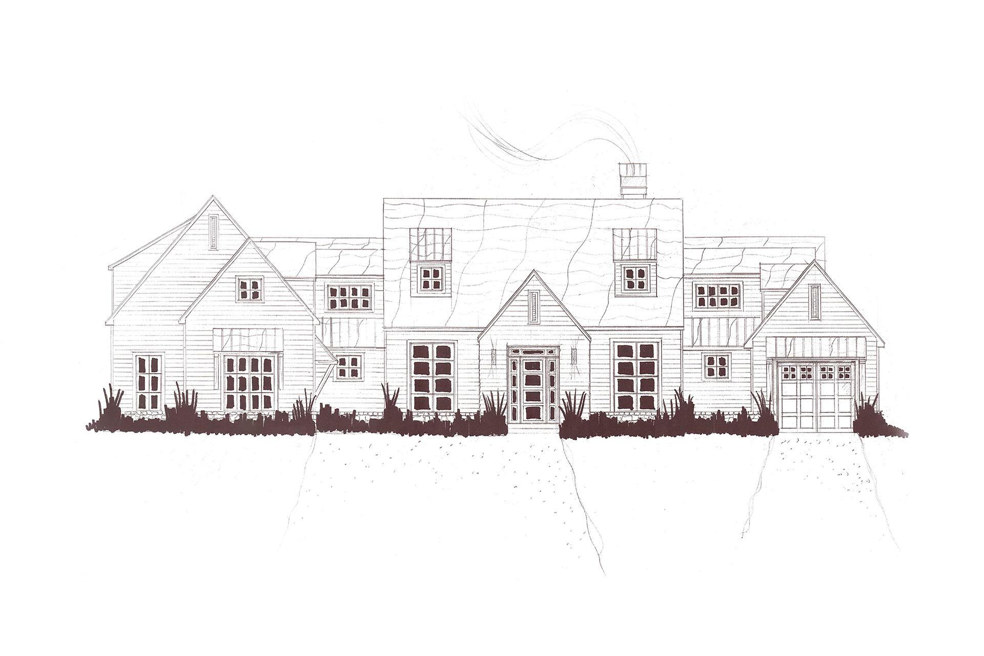 Modern farmhouse 3 bainbridge design group for Bainbridge design
